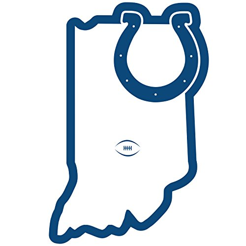 Siskiyou NFL Indianapolis Colts Home State Magnet, 11