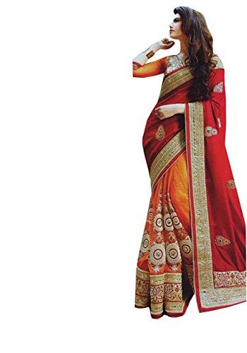 Delisa Fashion Indian Ethnic Bollywood Saree Party Wear Pakistani Designer Sari Wedding