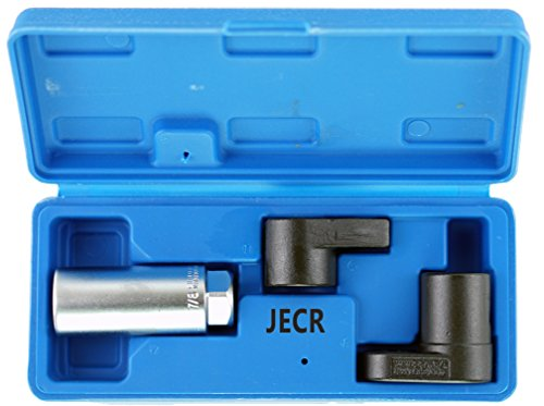 Oxygen Sensor Socket Remover Tool Set - 3 Piece Universal o2 Sockets Wrench Tool Kit - 7/8, 1/2, and 3/8 Inch Drive for 02 Sensors – 1 Vacuum Switch Socket (Vacuum Switch Socket)