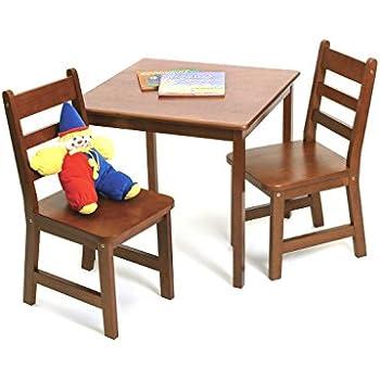 Amazon Com Lipper International 514c Child S Square Table