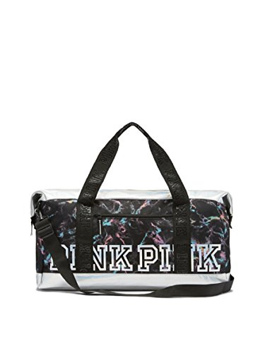 Victoria's Secret PINK Limited Edition Sport Duffle Bag Marble Iridescent by Victoria's Secret
