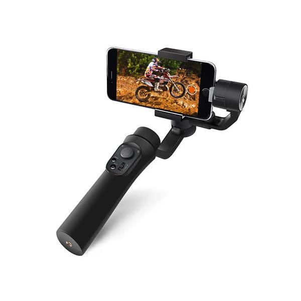 E-Image Q50 3-Axis Smartphone Gimbal Stabilizer 360° Rotation Phone Stabilizer Inception Mode Stunning Motion Time-Lapse 1