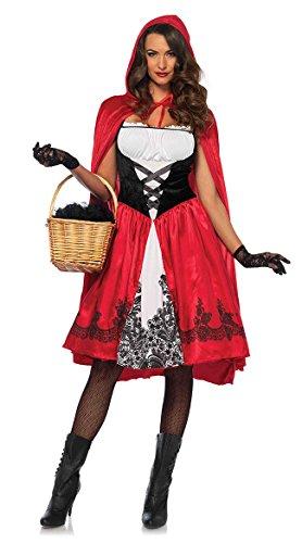 Leg Avenue Women's Classic Red Riding Hood Costume, Medium