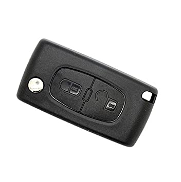 Peugeot Carcasa para llave mando a distancia llaves 2 ...