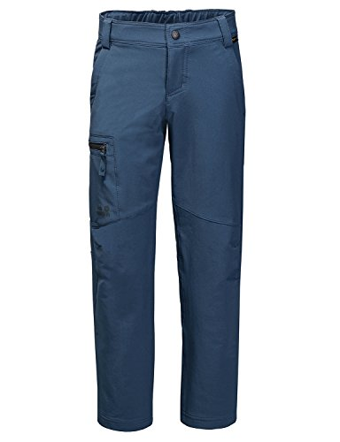 Jack Wolfskin Kids Activate Pants, 164 (13-14 Years Old), Dark Sky by Jack Wolfskin