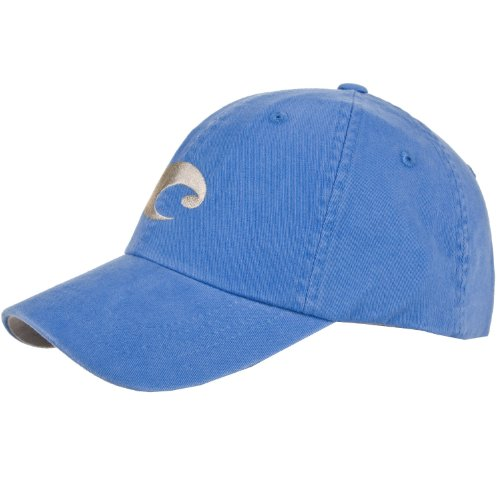Costa Del Mar Twill Hat, Ocean Blue