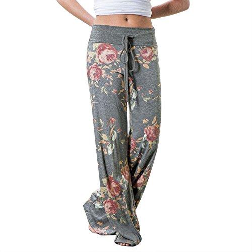 Wide Leg High Waist Pants - 7