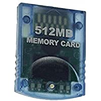 DishKooker 512MB Memory Card for Nintend Wii Console Memory Storage Card for Gamecube GC