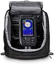 Garmin Striker Plus 4 Ice Fishing Bundle, Includes Portable Striker Plus 4 Fishfinder and Dual Beam-IF Transdu