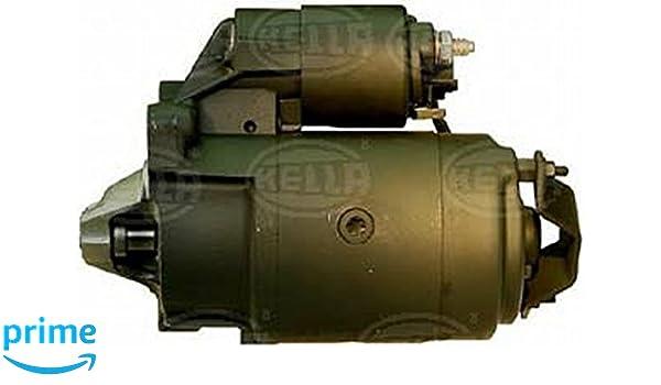 HELLA 8EA 726 063-001 Motor de arranque, Número de dientes 9,10, Tensión: 12V, Potencia nominal: 0,9kW: Amazon.es: Coche y moto