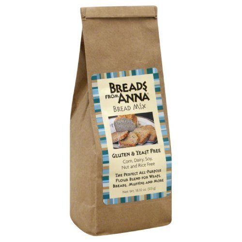Breads from Anna Yeast Free Bread Mix, 18.1 Ounce -- 6 per case. by Breads From Anna