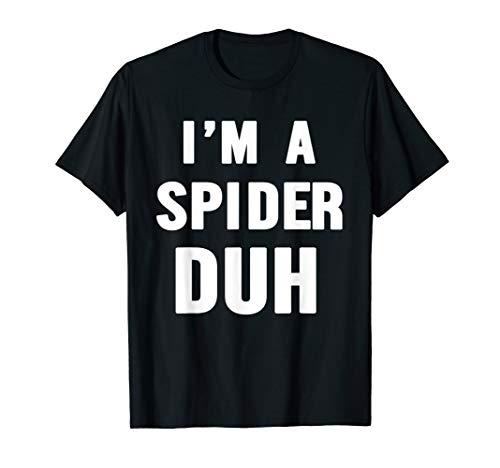 Easy Halloween Spider Costume Shirt for Men Women Kids -
