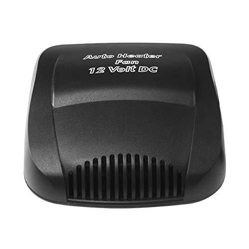 Adaskala Ventilatorkachel voor de auto, draagbaar, 12 V, 2-in-1, koelruimte voor auto en snelle verwarming, Defogger…