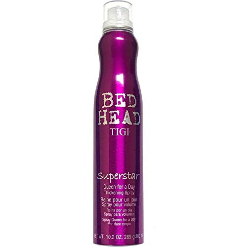 TIGI Bed Head Superstar Queen for a Day Thickening Spray 10.2 oz (Pack of 2)
