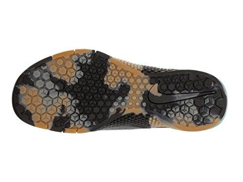 Nike Metcon 2 Cross Training Shoes Dark Grey/Hyper Turquoise/Gum Medium Brown/Black rpg0Us