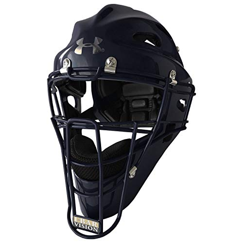 Under Armour Youth Solid Baseball/Softball Catcher's Helmet