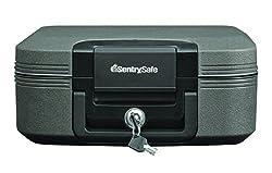 3. SentrySafe Fire Safe, Waterproof Fire Resistant Chest, 0.28 Cubic Feet, Medium