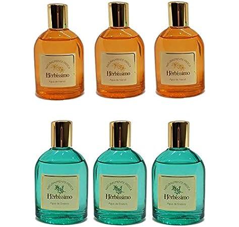 Herbíssimo Pack 3 Agua de Enebro 60ml + 3 Agua de Neroli 60ml (Sin caja): Amazon.es: Belleza