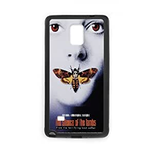 Samsung Galaxy Note 4 Cell Phone Case Black The Silence Of The Lambs as a gift P9239649