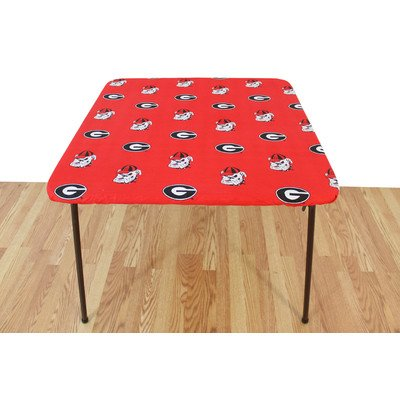 Georgia Bulldogs Table Cover (College Covers Georgia Bulldogs Card Table Cover, 33 by 33