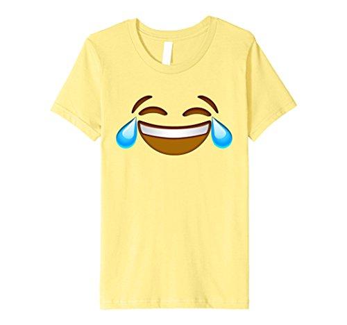 Kids Laughing Halloween Group Emoji Costume Shirt 10 Lemon (Halloween 2017 Costume)