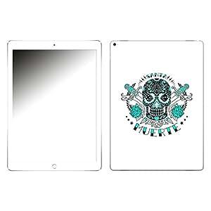 """Motivos Disagu Design Skin para Apple iPad Pro 12.9: """"Tag des toten Zuckerschädels weiss"""""""