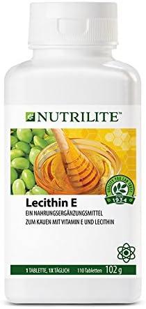 Lecitina E de NUTRILITE -110 comprimidos/102 gr. La vitamina E es un antioxidante que ayuda a defender el organismo de la formación de radicales ...