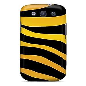 Pretty Galaxy S3 Case Cover/ Zebra Print Animal Free Series High Quality Case