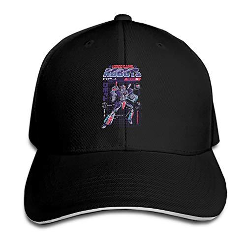 Baseball Caps, Women Men Unisex Video Game Robot Model N Snapback Hats Baseball Caps