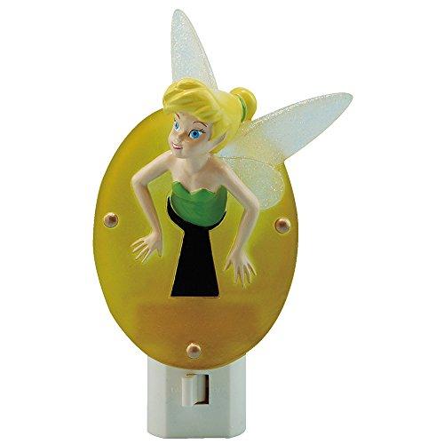 Disney Night Tinkerbell Light (Westland Giftware Disney Tinkerbell Resin Nightlight, Stuck In Keyhole)