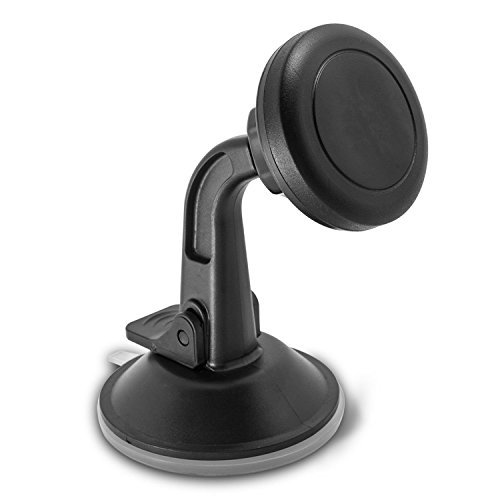 Reliable Magnetic Car Mount Phone Holder 360 Rotating Windshield and Dash Board Stand Universal for Smart Mobile Phones or GPS Tracker