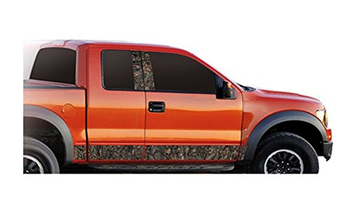 Side Panel Decal - Camo Wild Oak Vehicle Truck Auto Body Side Rocker Panel Graphics Decal #7308