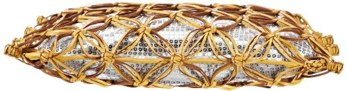 Saccess Lapac SS1370, Borsa a spalla donna 37x38x1 cm (L x A x P) Giallo (Gelb (yellow))