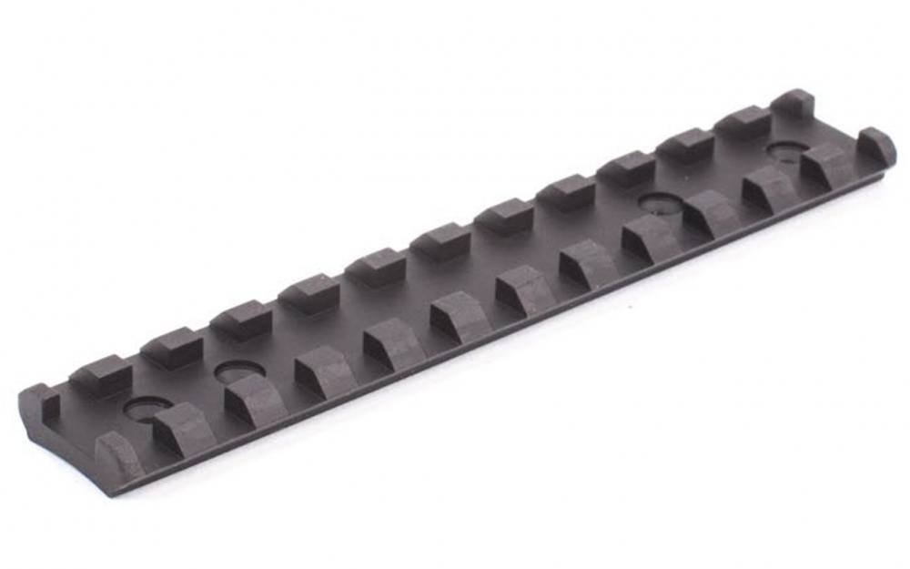 MSP Ruger 10/22 Long See-Through Scope Mount - Mil-Spec Picatinny. BLACK by MSP