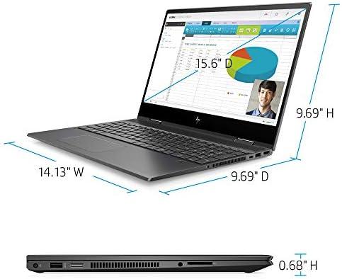 Flagship 2021 HP Envy 15 x360 2 in 1 Laptop 15.6″ Diagonal FHD IPS Touchscreen Display AMD 6-Core Ryzen 5 4500U 32GB RAM 512GB SSD Fingerprint Backlit Wifi6 USB-C HDMI B&O Win10 + iCarp Pen 41wjxXQTISL