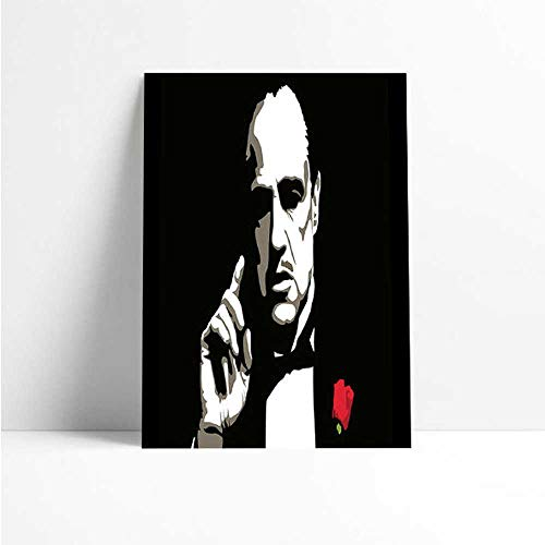 Quadro Decorativo - The Godfather - Quadro 20x30