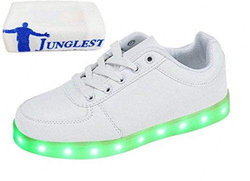 Presente JUNGLEST LED piccolo Colore Scarpe Carica asciugamano Bianco Adulto A Lampeggiante Unisex USB Luminosi 7 Lampeggiante E44rqW