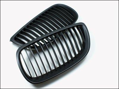 Autotecknic Matte (AutoTecknic Matte Black Front Grille - BMW E92/ E93 3 series coupe/ convertible and E90/ E92/ E93 M3)
