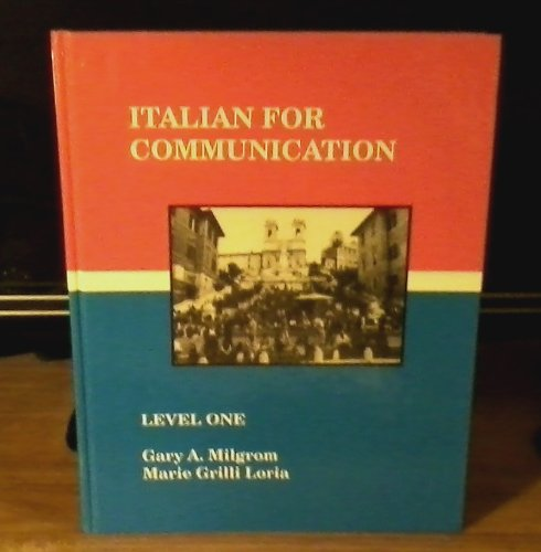 Italian for Communication: Level One