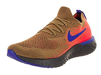 Amazon.com | Nike Men's Epic React Flyknit Golden Beige