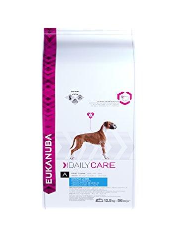 Eukanuba Daily Care Sensitive Joints Trockenfutter (für Hunde mit sensiblen Gelenken, Spezial-Premiumfutter für jede Rasse mit Huhn), 12,5 kg Beutel