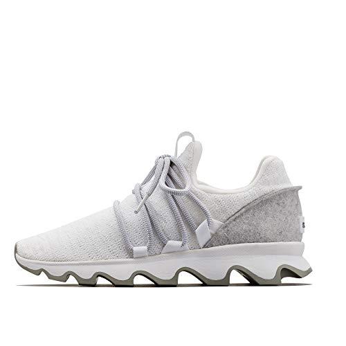 Sorel - Women's Kinetic Lace Casual Knit Sneakers, White, 8.5 M US