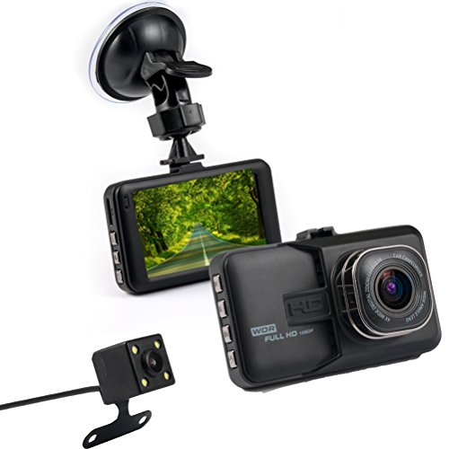 Accfly-Full-HD-1080P-30-LCD-Screen-Car-Video-Dashcam-DVR-Recorder-170-Wide-Angle-Lens-Loop-Recording-Motion-Detection-Parking-Guard-with-G-Sensor-Vehicle-Rear-Camera