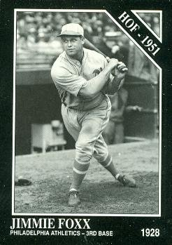 Amazoncom Jimmie Foxx Baseball Card Philadelphia
