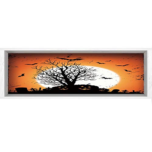 3D Depth Illusion Wall Mural Stickers,70.8