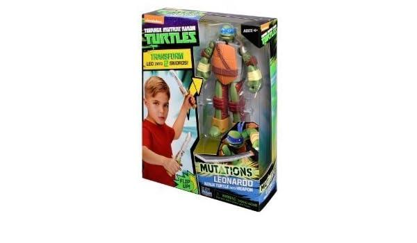 TMNT Teenage Mutant Ninja tortugas transformado en al arma ...