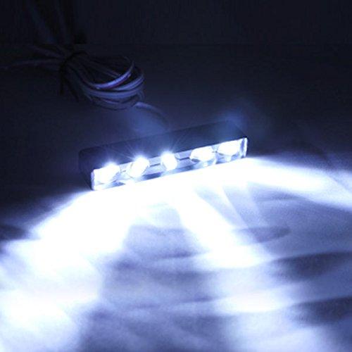Krator White License Plate Tag Light 5 LED Fender Lite For Yamaha YZFR6 R6S YZF R6