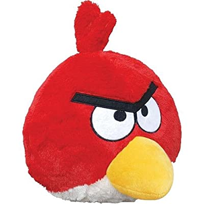 Angry Birds Plush 8-inch Red Bird With Sound by Commonwealth Toy