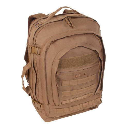 (Sandpiper of California Bugout Backpack (Brown, 22x15.5x8-Inch))