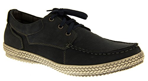 Blu Blu uomo Studio chiusa Punta Footwear qazIn
